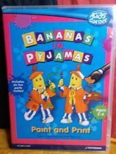 Bananas in Pyjamas: Paint and Print MAC/ PC CD-ROM