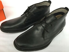Hush Puppies Roland Jester HM01330-001 Leather Chukka Oxfords Shoes Men's 8.5