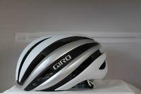 Giro Synthe Road Helmet - Matte White/Silver, Large (59-63cm)