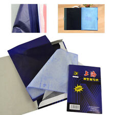 100 Sheets A4 Dark Blue Carbon Hand Stencil Transfer Paper Hectograph Repro New