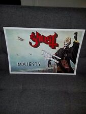 Ghost /Ghost B.C.  poster Majesty tour poster Papa Opus ghouls Ghost bc