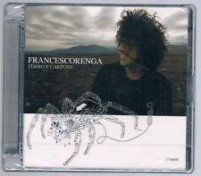 FRANCESCO RENGA FERRO E CARTONE CD SIGILLATO!!!