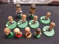 CORINTHIANS - 11 Football Figures from 1995 - 2009 - Gerrard, Owen, Scholes - VG