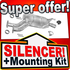 Middle Silencer MERCEDES 190 (W201) 2.0 2.3 E 03.1991-1993 Exhaust Box LLY