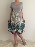 Women's Short Sleevelee Casual Bohemin Floral Summer Dress Size 8,10,12,14,16