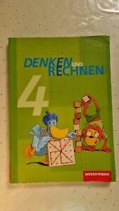 Mathe Klasse 4 Denken und Rechnen Westermann ISBN 9783141210125 * TOP