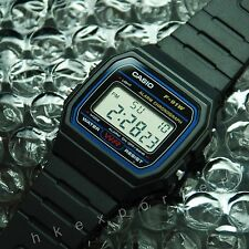 Brand New Casio classic vintage retro style digital watch F-91W-1DG