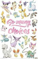 Pokemon- So Many Choices Poster 24 x 36