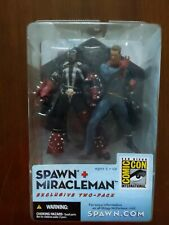 Spawn Miracleman Todd McFarlane Toys Sdcc 2003 Exclusive 2-Pack Sealed