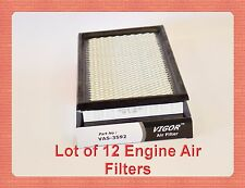 Lot of 12 Engine Air Filter A23592 E6AE-9601-BC Fits: FORD LINCOLN MAZDA MERCURY