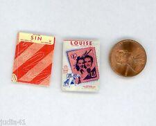 Miniature Dollhouse Sheet Music/ Sin - Louise