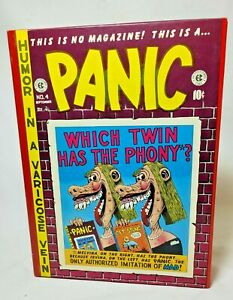 The Complete PANIC EC Comic Series Volume 1-2, NO. 1-12, Hardcover, Excellent A+