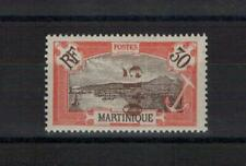 MARTINIQUE  .  N° 108 a   .   SURCHARGE  RENVERSEE   NEUF   *. SUPERBE .