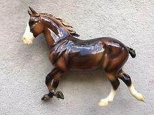 Rare Breyer Horse Equinox Glossy Chestnut Cedarfarm Wixom Draft Percheron QVC SR