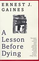 A Lesson Before Dying (Oprah's Book Club)  (ExLib) by Gaines, Ernest J.