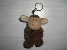 Nici Schlüsselanhänger 90er Jahre Schaf mit Glöckchen