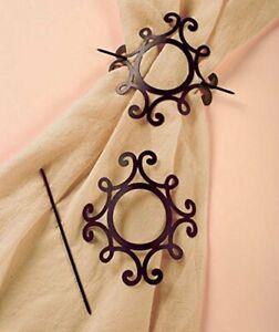 Set of 2 Curtain Tie Backs