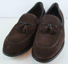 Allen Edmonds Men's Perugia Brown Suede Loafers MSRP $395 Size 12 EEE