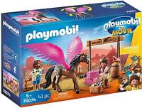 Playmobil 70074 Movie Marla and Del with Flying Horse Toy Playset