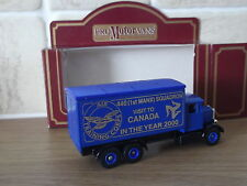 Lledo PV44, Scammell Truck, ATC 440 1st Manx Squadron Visit Canada 2000 (blue)