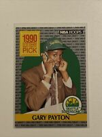 1990-91 Hoops #391 Gary Payton RC Rookie SONICS