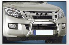ISUZU D-MAX 2012 SMALL BAR 60 INOX BRILL C/OMOLOGAZIONE EUROPEA