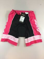 Zoot Womens Breast Cancer 6in Tri Shorts Small S (6072)