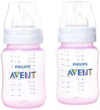 Avent Classic+ CLASSIC+ 2 FEEDING BOTTLES 26ML - PINK Baby/Toddler Feeding BN