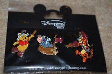 Disneyland Resort Paris SET OF 3 Winnie the Pooh, Tigger & Eeyore Pirate pins