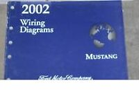 2002 FORD MUSTANG Electrical Wiring Diagrams Service Shop Manual 02 BOOK