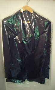 CLEAR PLASTIC  GARMENT COVERS 25mu WITH GUSSET PK 10