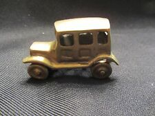 Banthrico Type Ford Car  Gold  (1)  Loose