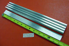 "5 pieces 1/4"" X 1"" ALUMINUM 6061 T6511 SOLID FLAT BAR 14"" long New Mill Stock"