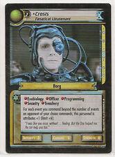 Star Trek CCG Necessary Evil 4R157 Crosis, Lieutenant 'X' FOIL