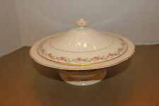 SYRACUSE CYNTHIA FEDERAL SHAPE COVERED SERVING BOWL