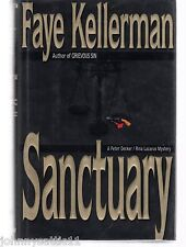 1st Edition Sanctuary by Faye Kellerman (1994, Hardcover) 0688046126