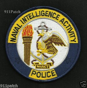 NAVAL INTELLIGENCE ACTIVITY MILITARY POLICE PATCH