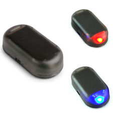 Fake Solar Car Alarm Led Lights Security System Warning Anti Theft Tools