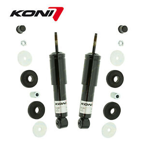 2 x Front KONI Classic Adjustable Shock Absorbers for Lancia Flavia 1300C