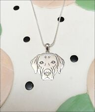 Labrador Retriever Sterling Silver Charm Necklace - New - FREE SHIPPING
