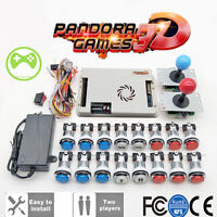 Pandora box 9H 3288 in 1 2 Player Original Family DIY arcade kit 51 3D games