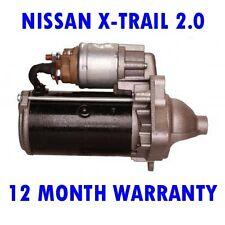 NISSAN X-TRAIL 2.0 2007 2008 2009 2010 2011 2012 2013 - 2015 STARTER MOTOR