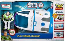 Mattel Disney Pixar Toy Story Buzz Lightyear's Star Command Toy Spaceship