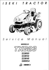 Iseki TXG23 Tractor Service Manual (0485)