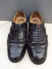 MILITARY MOD ARMY Highland Scottish Ghillie Kilt Pipers Brogues Leather Shoes 6