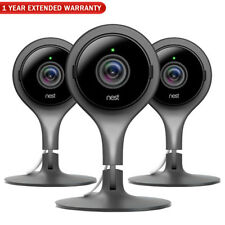 Google Nest Indoor Security Camera (Pack of 3) + 1 Year Extended Warranty
