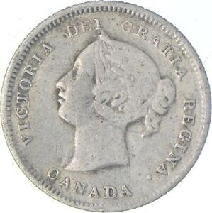 Better - 1881 Canada 5 Cents - TC *550