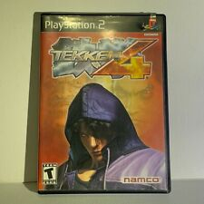 Tekken 4 (Sony PlayStation 2, 2002) Complete Tested Working