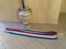 New hand made Hammock with Costa Rican flag colors from Costa Rica
