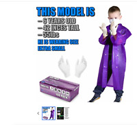 KIDS Nitrile Gloves SIZE XS FIts Ages 5-12yrs Old Doctor Glove Young Boys Girls